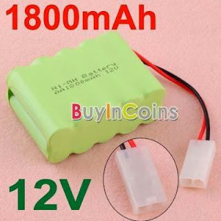 Practical New AA 12V 1800MAH Ni-MH Rechargable Battery Pack #3