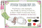 ROCK THE DROP this week! Leave a YA book in a public place for teens to find.