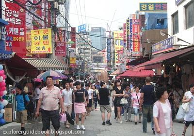 Tempat belanja di seoul korea selatan dongdaemun