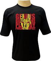 Camiseta Iron Man 3