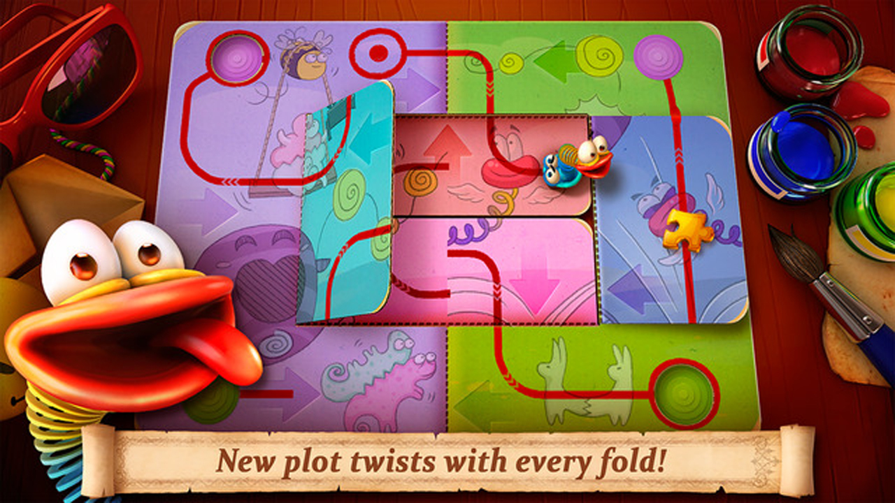 Fold the World Gameplay IOS / Android