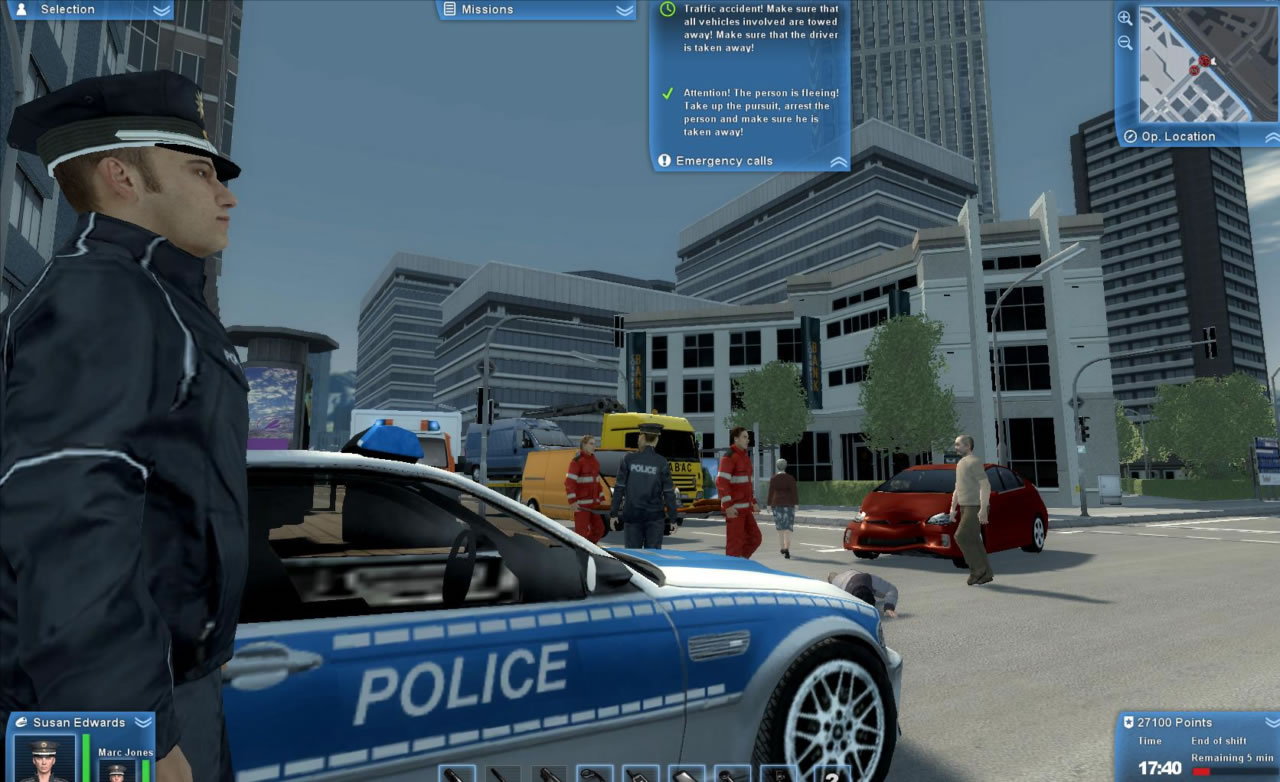 Free Download Police Force 2012 PC RIP Full Version Games
