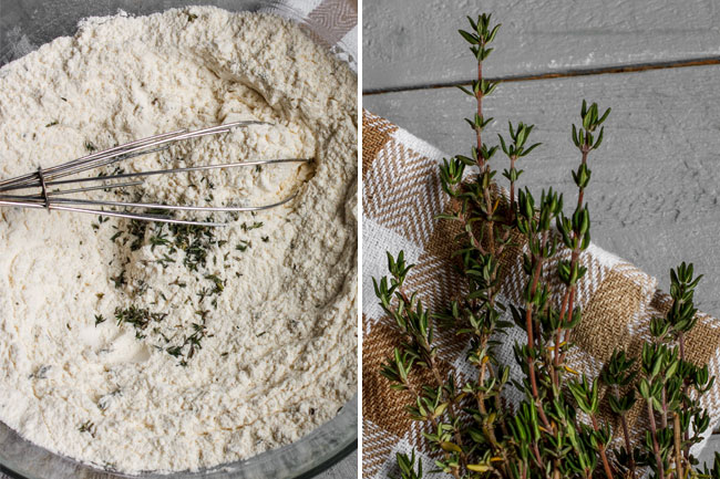 Brašno sa majčinom dušicom / Flour and thyme