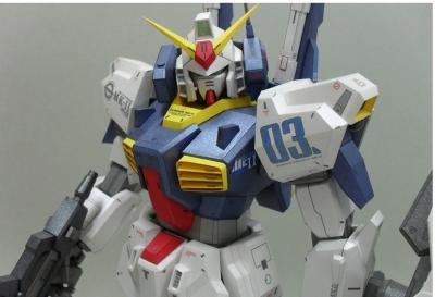 Papercraft Gundam RX-178 MK-II