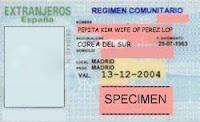 Tarjeta de residencia para extranjeros en España