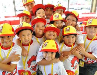 McDonalds Kiddie Crew Workshop 2013