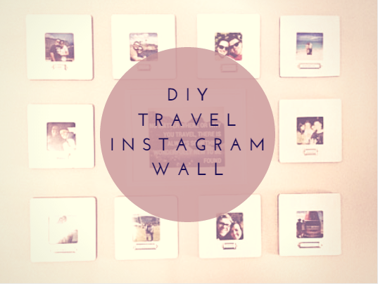 DIY Travel Instagram Wall