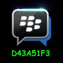 Pin Bbm D43A51F3