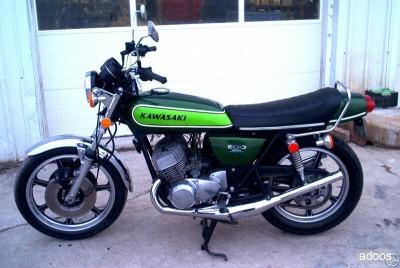 kawasaki: 1973 Kawasaki Mach III H 1D