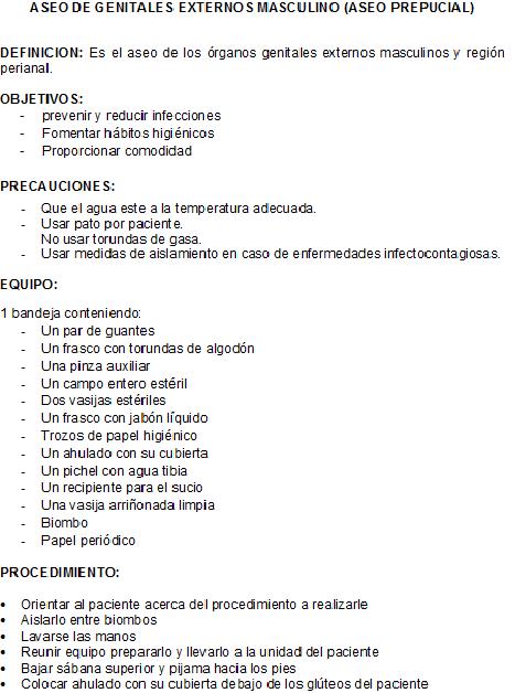 clases fundamentos de enfermeria: aseo genitales masculinos (aseo ... - Bano General Del Paciente En Cama