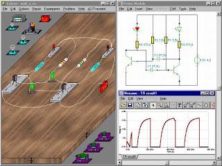 Výukový program EDISON (elektronická laboratoř)