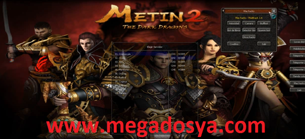 Metin2 Hileleri Türkiye ve Pvpserver Francoiz Oyun Botu 1.4 indir