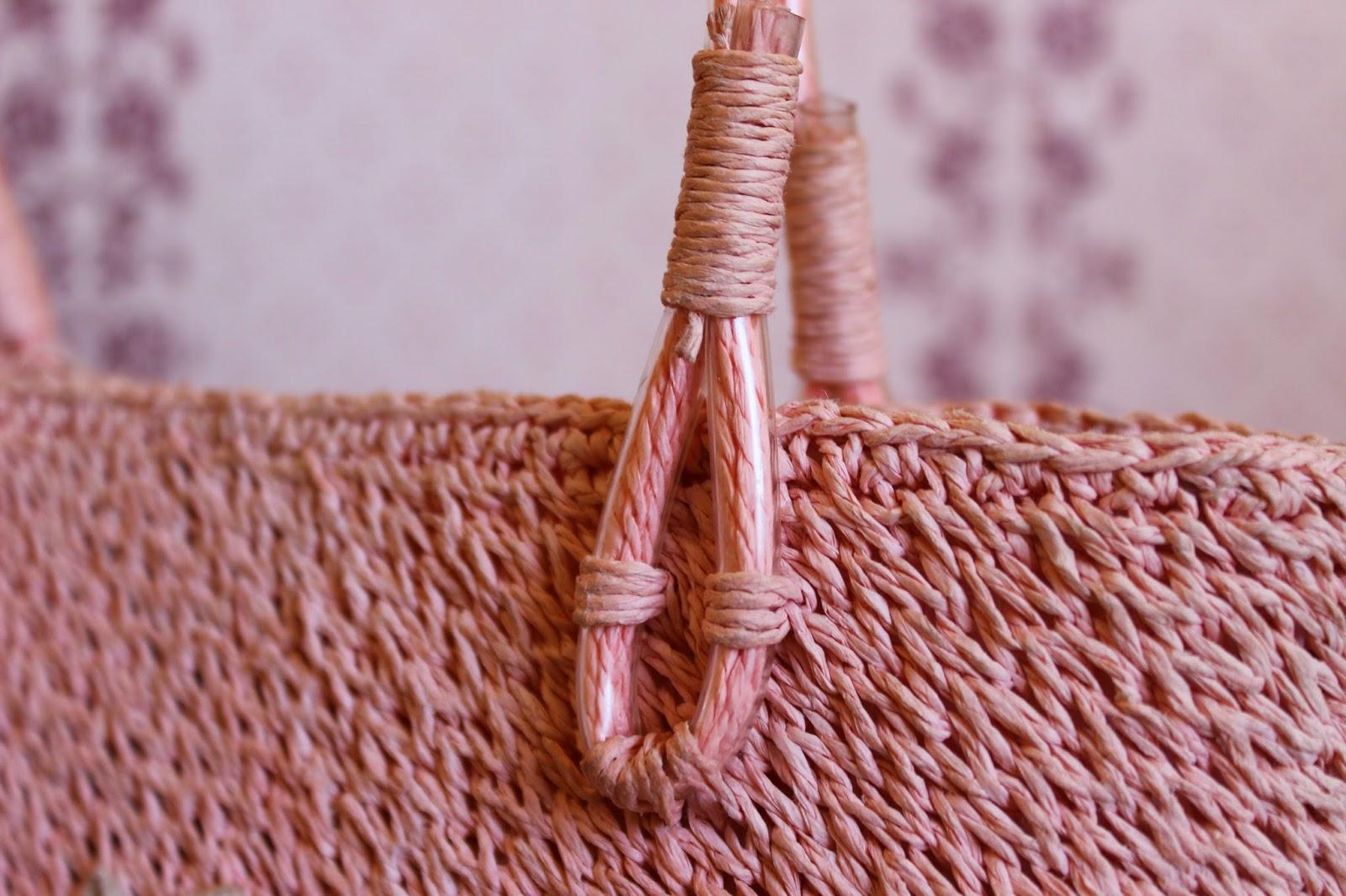 настроение своими руками, сумка из строительной сетки, оригинальная сумка, сумка на лето, летняя сумка