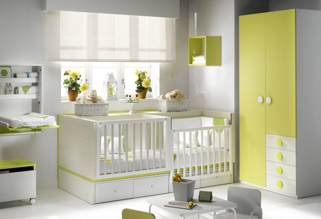 dco chambre verte et blanc chambre verte bebe lombards for - Chambre Verte Bebe