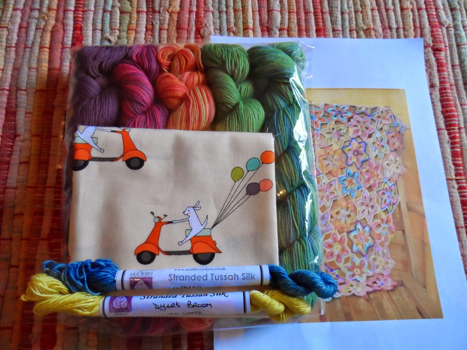 Woolfest 2014- Things I bought on the day.