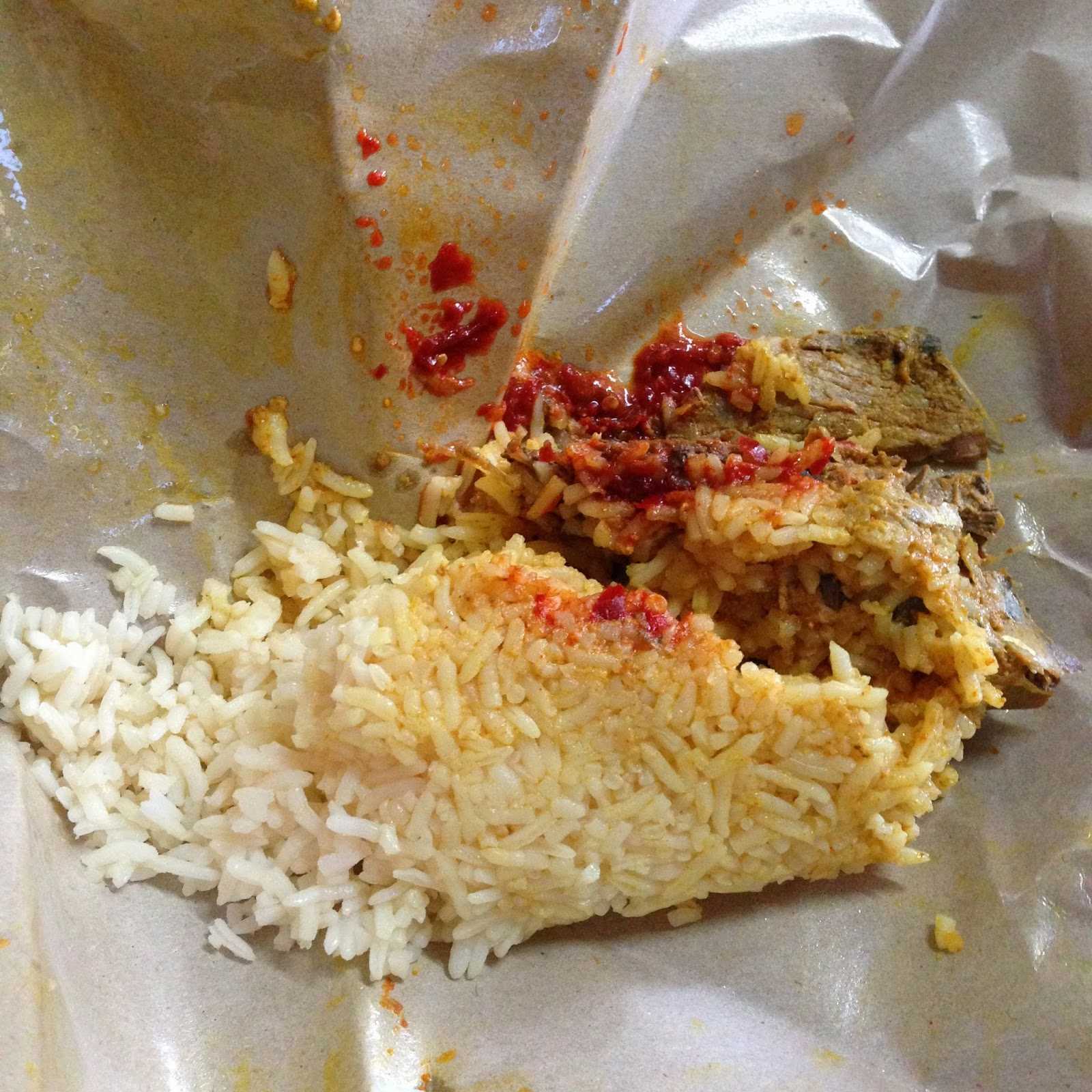 Nasi Berlauk Air Dingin at Kopitiam Kita