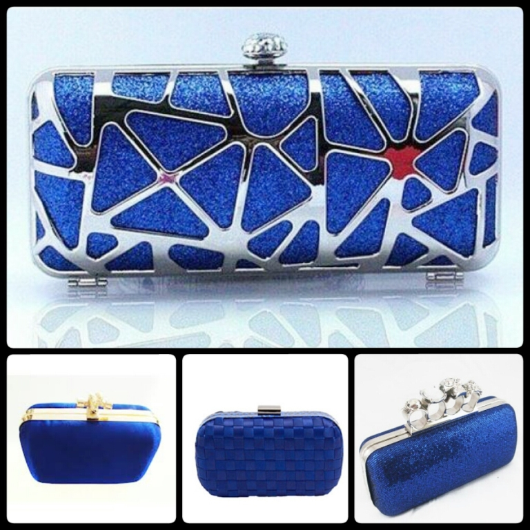 azul klein clutches