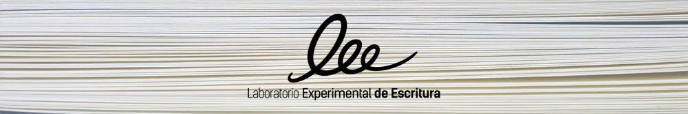 Laboratorio Experimental de Escritura