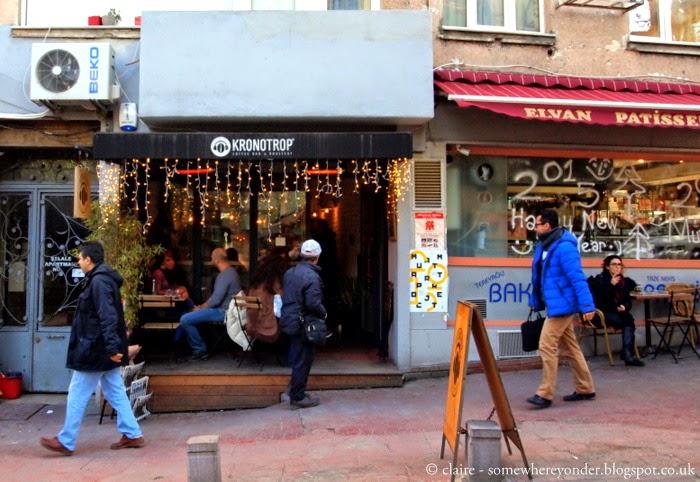 Kronotrop coffee shop, Istanbul