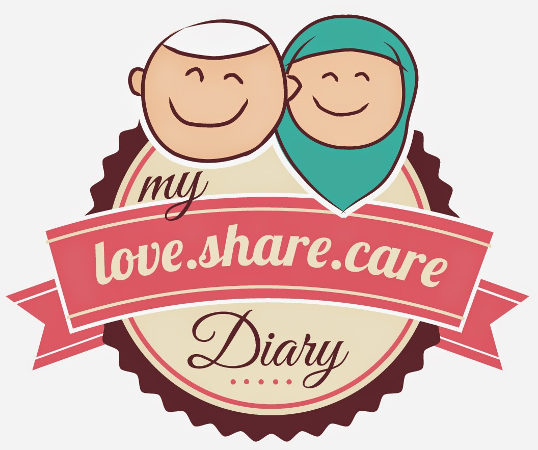 My Love, Share & Care Diary