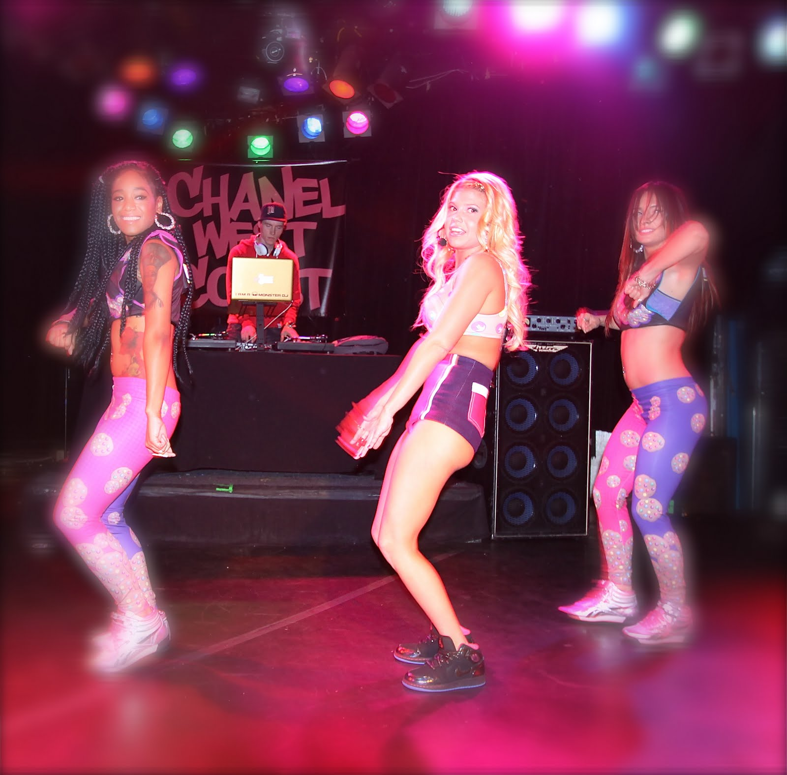 Chanel West Coast @ The Roxy January 8th. 2012