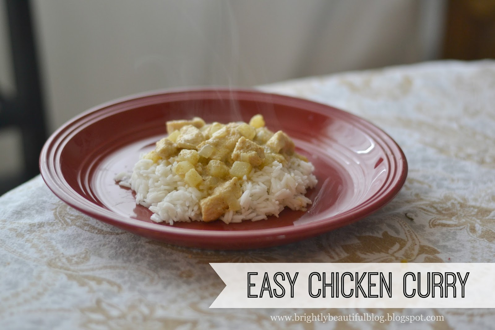 Easy 30 Minute Chicken Curry. So flavorful and satisfying!