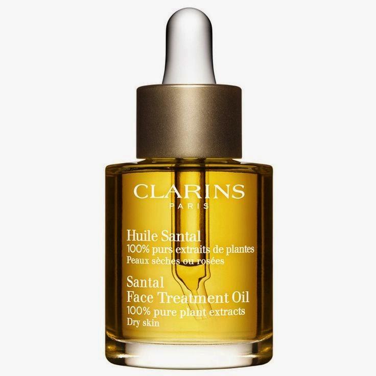 Aceites de Belleza. Cosmética en aceite. Aceites esenciales. Aceites naturales. Huile Santal Clarins. Aceite de nuez Clarins.