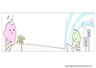 Dibujos de verano para imprimir