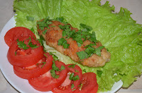 Зразы куриные с грибами: Готовые зразы подавать с овощами