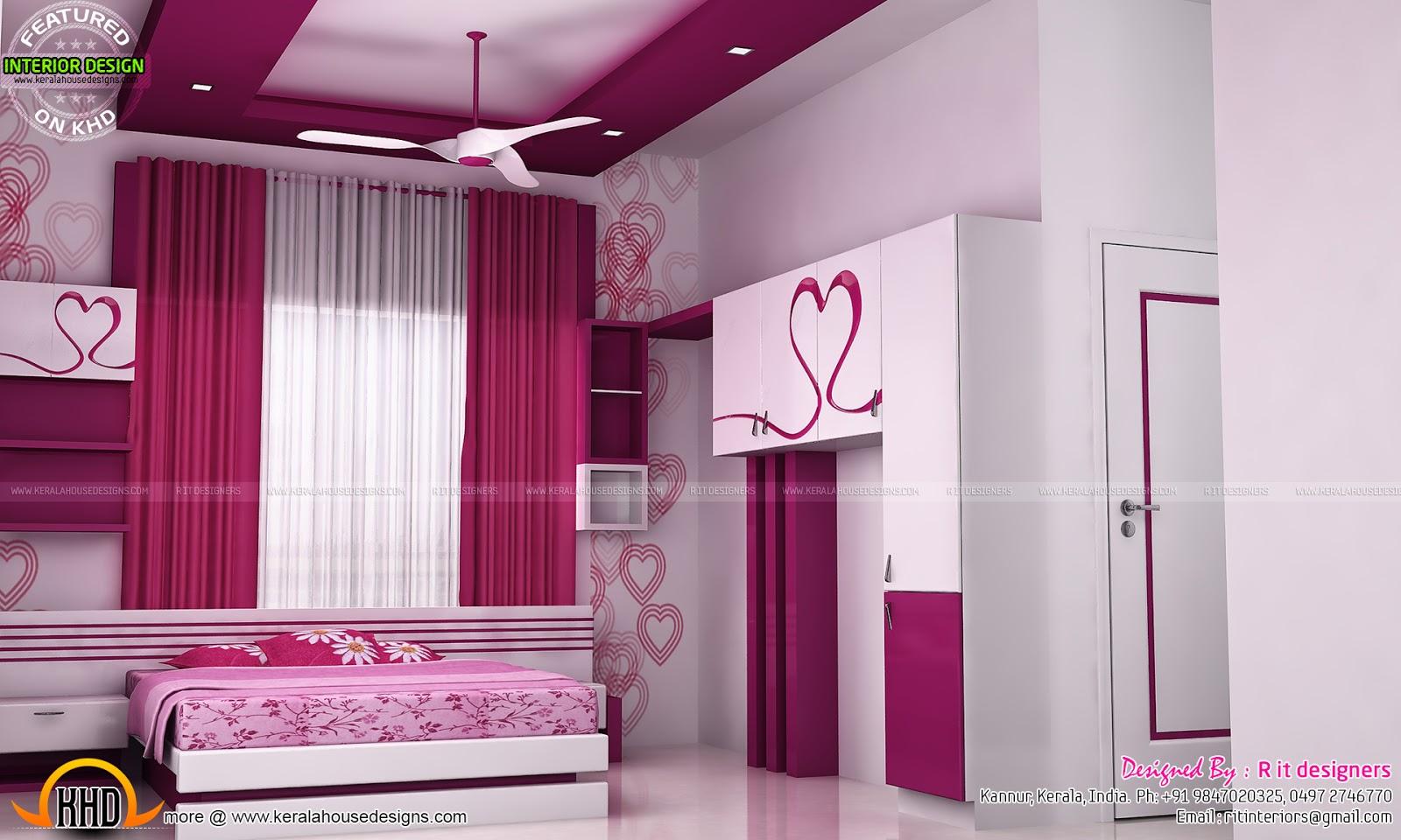 R It Designers (home Design In Kannur) Part - 39: Astounding Bedroom Design Kannur Images - Simple Design Home .