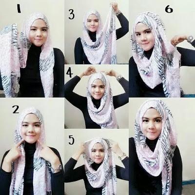 Cara Memakai Hijab Pashmina Untuk Kuliah