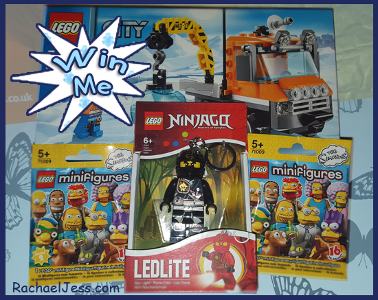 As a big thank you for following my blog I've put together a little Lego bundle that I would like to giveaway to one of you.