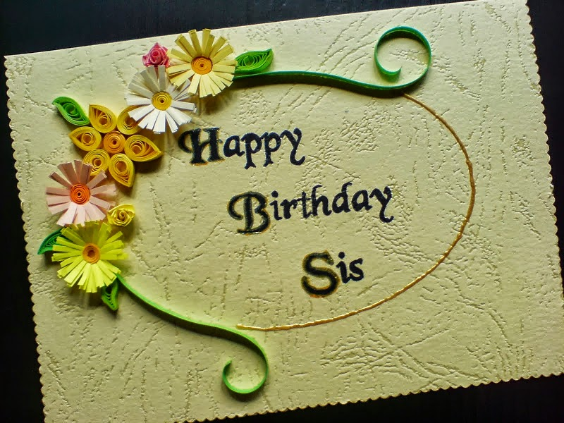 Birthday Wishes Sis