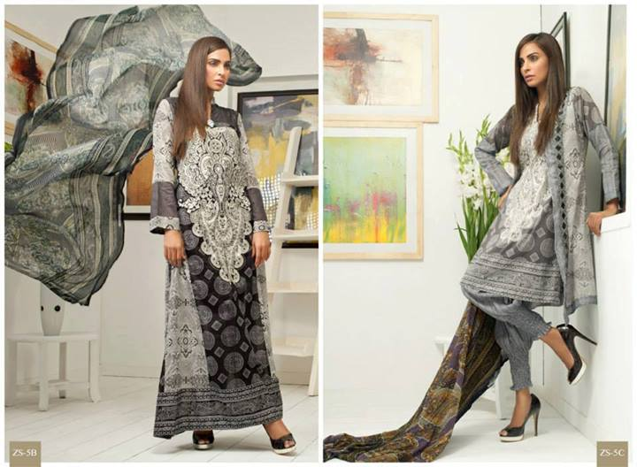Pehnawa+Eid+Dress+Latest+Collection+by+ZS+Textiles+(6) Latest Pehnawa Eid Dresses by ZS Textiles