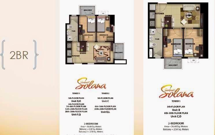 Solana Condominium 2 Bedroom Unit