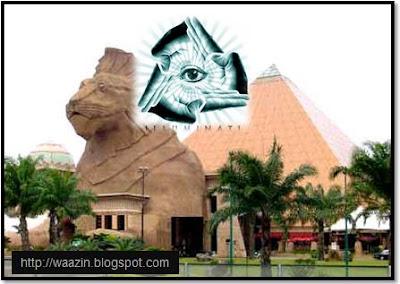 Bukti Sunway Pyramid Kepunyaan Illuminati?