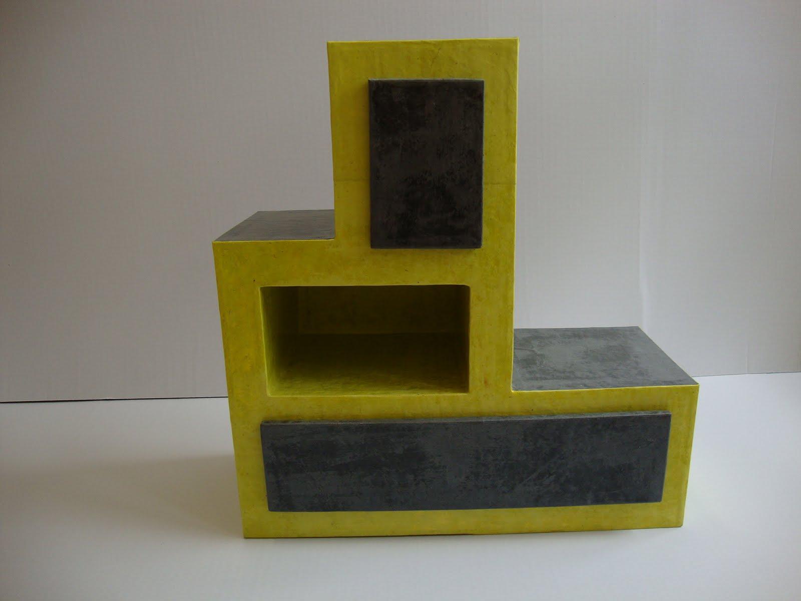 carton et compagnie meuble cubiste. Black Bedroom Furniture Sets. Home Design Ideas