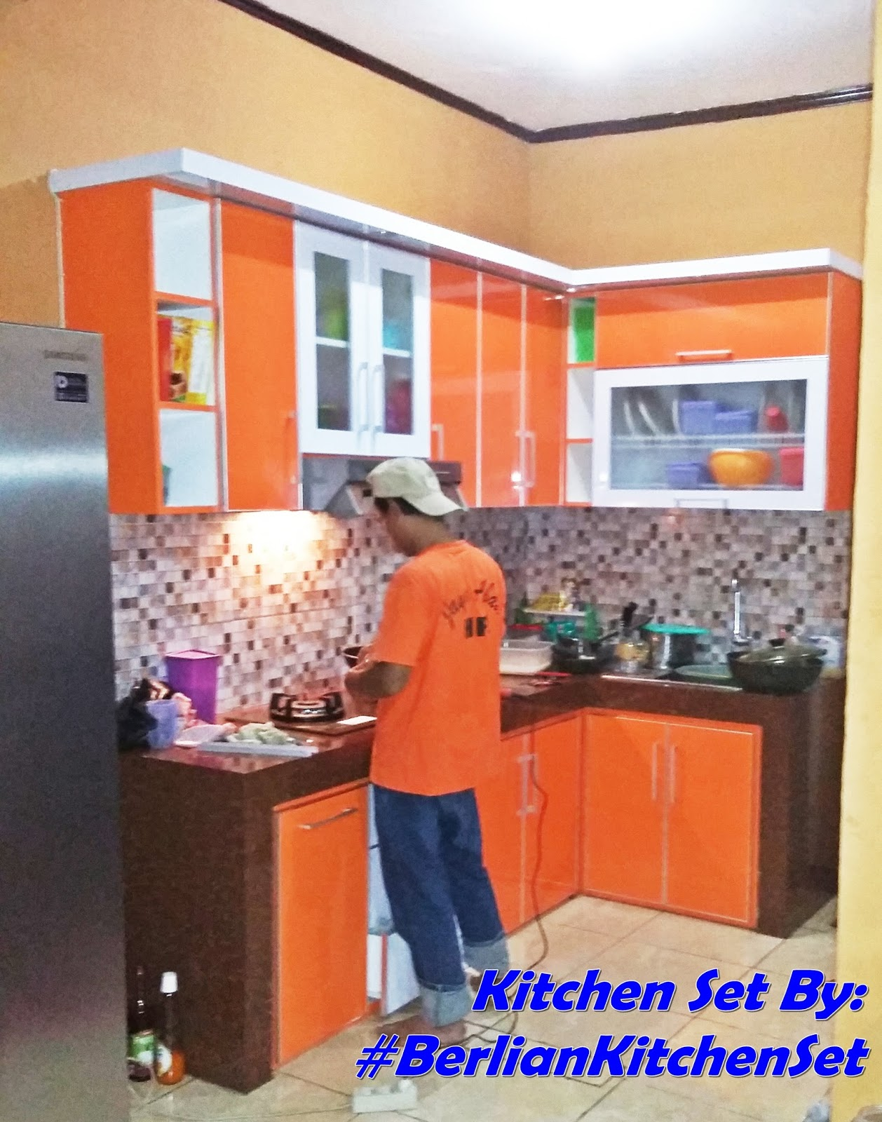 Berlian Kitchen Set Minimalis Murah Kitchen Set Model L