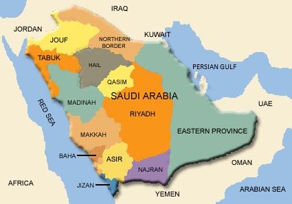 Region in saudi arabien