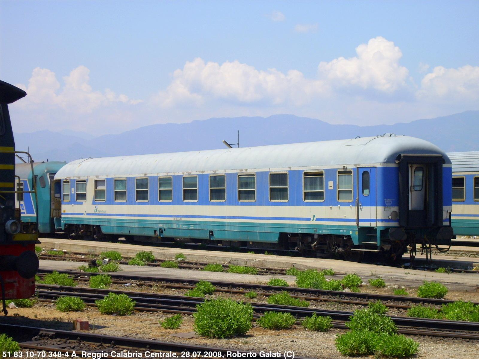 Carrozza Letto Excelsior : Ferrovie in calabria : treni notte: un po di luce su carrozze e