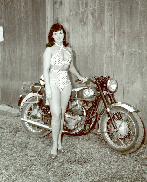 motorcycle 74  motorcycle pin-up