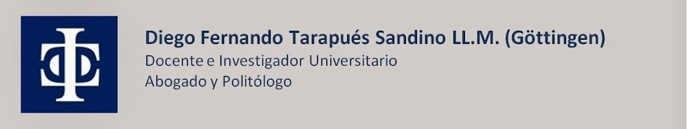 Blog Diego Tarapués