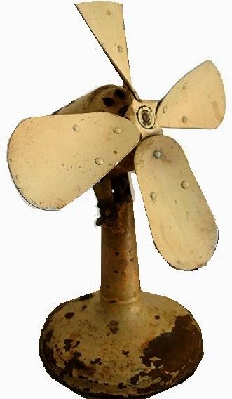 tienda decoracion vintage ventilador antiguo