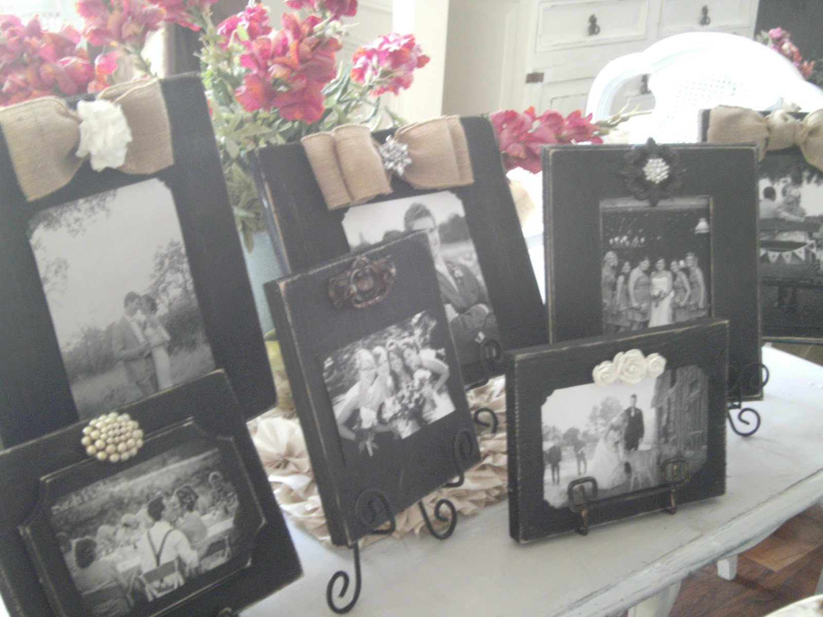 grace upon grace al: Custom Distressed Frames for Wedding Memory ...