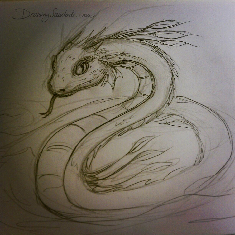 Drawing Saudade Doodle 075