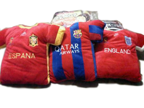 "SALE ""Jersey & World Cup 2014 "" PILLOW"
