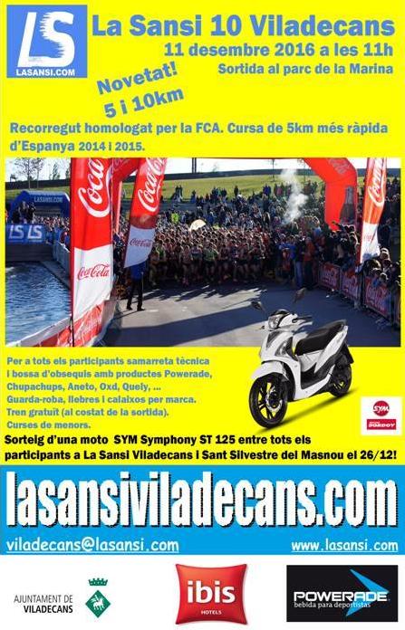 La Sansi Viladecans 5 i 10km (11.12.16)
