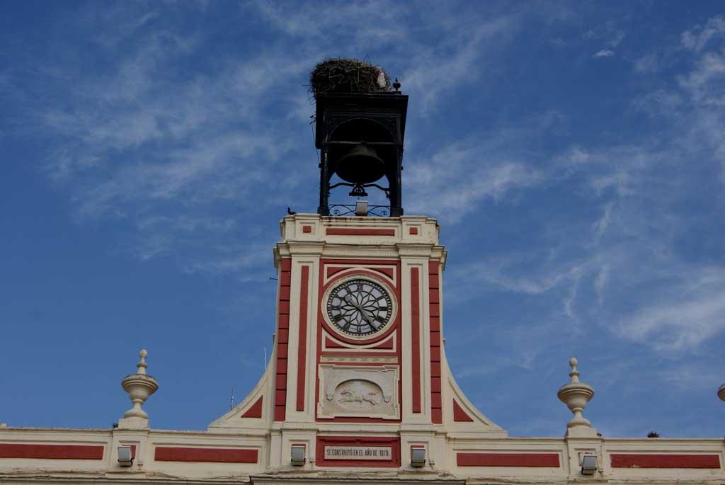 """Reloj """"Losada"""", de Morón"""
