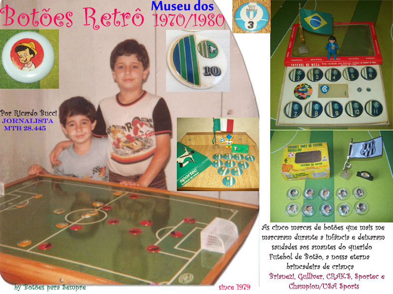 ACESSE O MUSEU DOS BOTÕES RETRÔ 1970/80