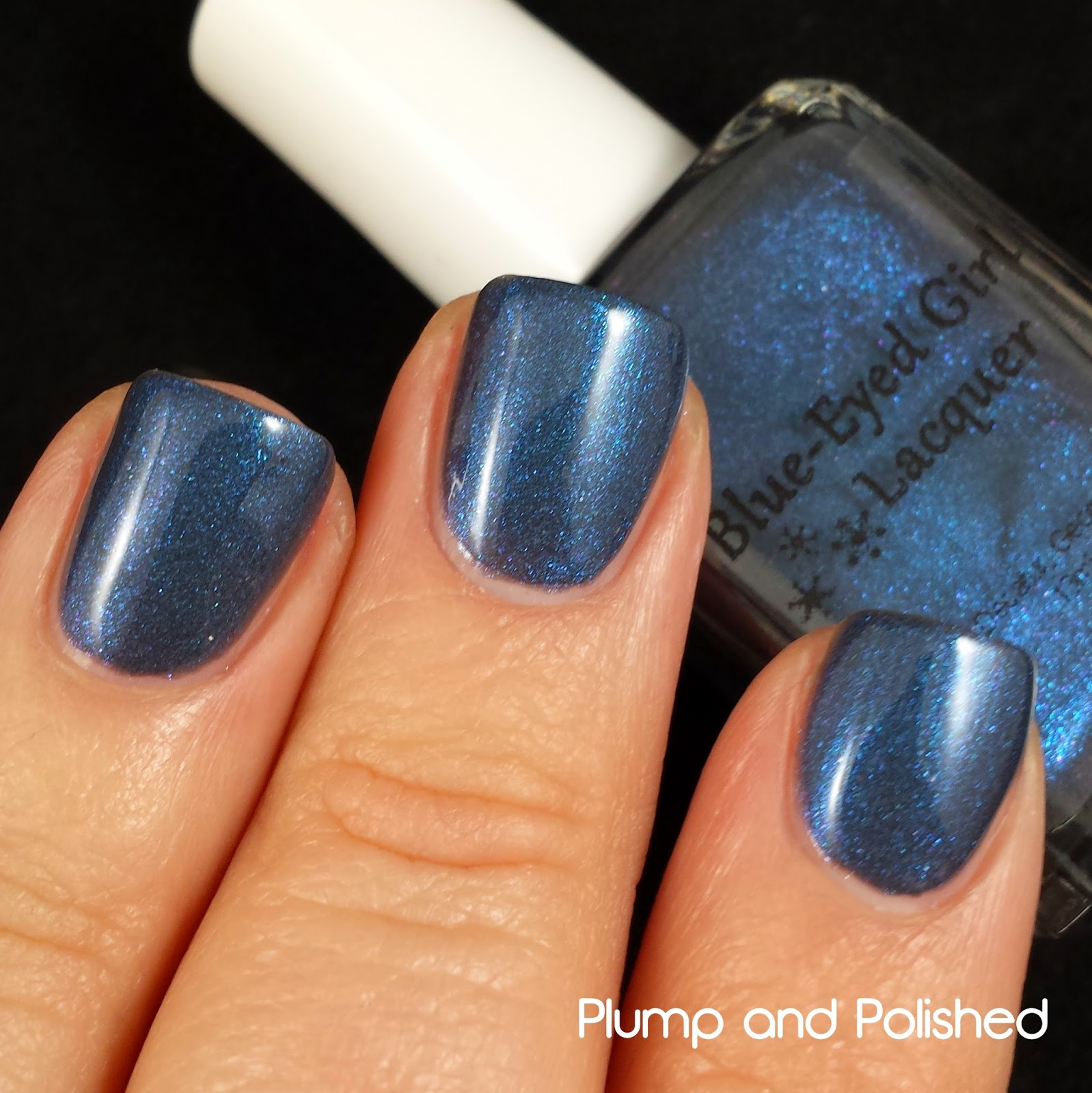 Blue-Eyed Girl Lacquer - It's Almost After Midnight